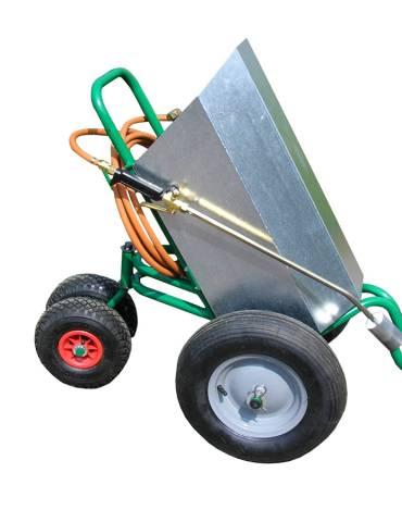 Chariot de désherbage Charoflam 40
