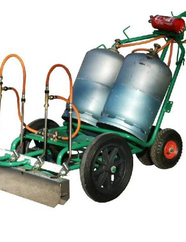 Chariot de désherbage Charoflam 186 / Electroflam 186